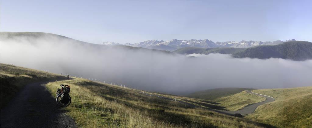 Voyage à vélo dans les Pyrénées