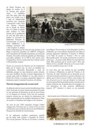 Le Mont Ventoux et les cyclotouristes