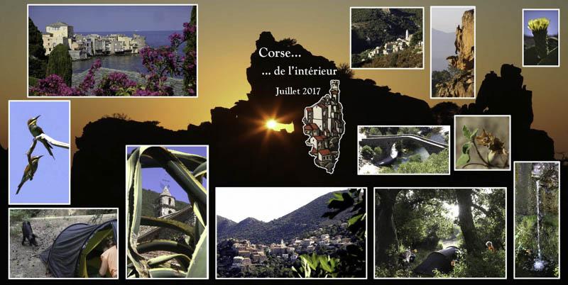 Voyage à vélo en Corse