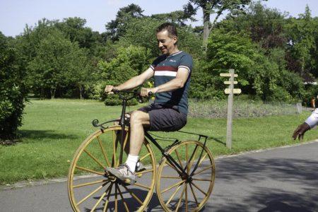 course sur piste de vélocipèdes